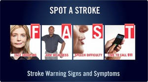 F.A.S.T. -- Stroke Signs