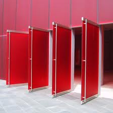 Red doors open